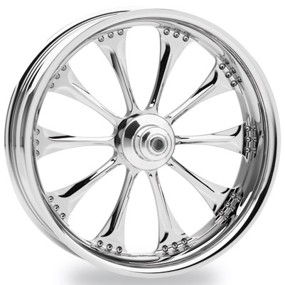 Performance Machine Hooligan Chrome Wide Rear Wheel, 18″ x 8.5″