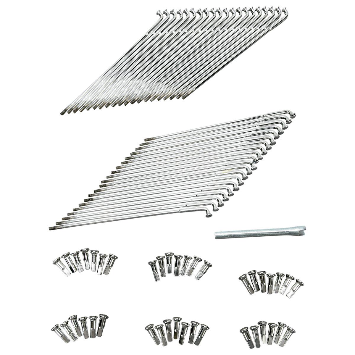 Drag Specialties Spoke Set for Spun Steel Hub 21