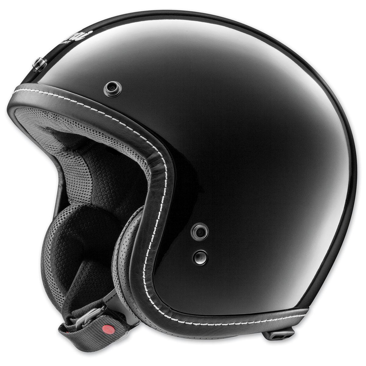 Arai Classic-V Black Open Face Helmet
