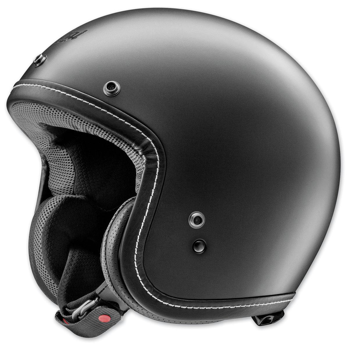 Arai Classic-V Black Frost Open Face Helmet