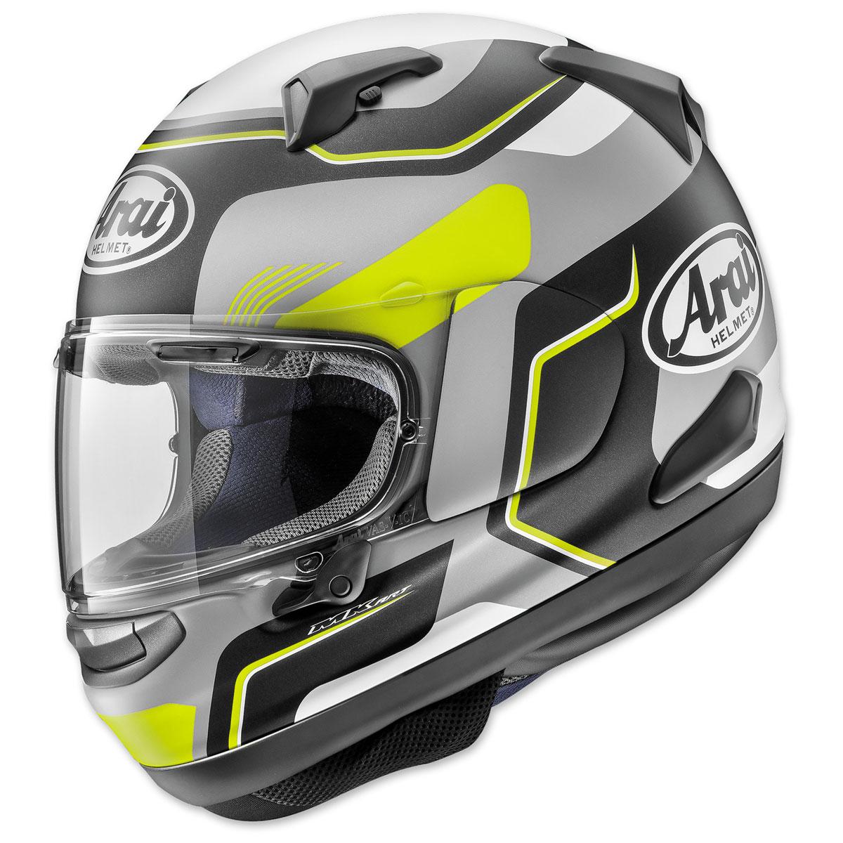 Arai Signet-X Sense Yellow Full Face Helmet