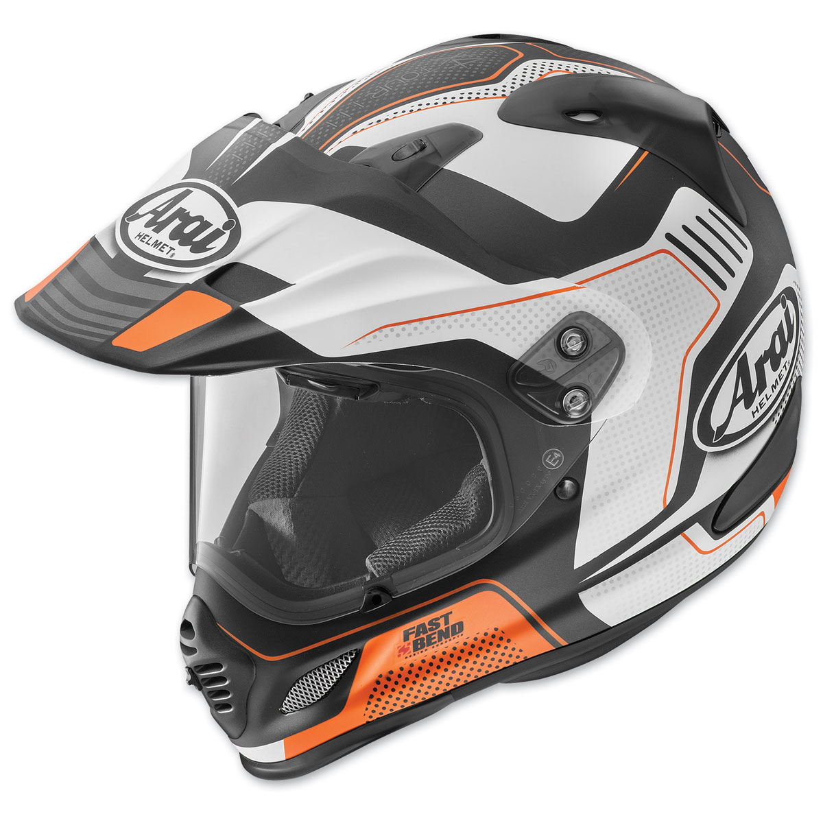 Arai XD4 Vision Orange Frost Dual Sport Helmet