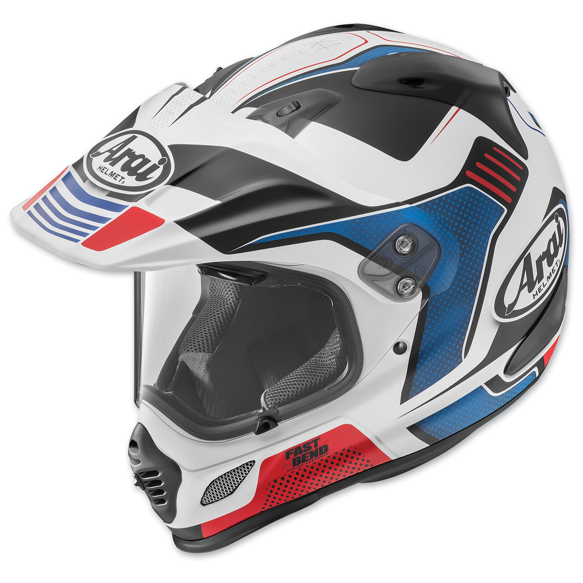 f37293f2 Arai XD4 Vision Red Frost Dual Sport Helmet - 820440 | JPCycles.com