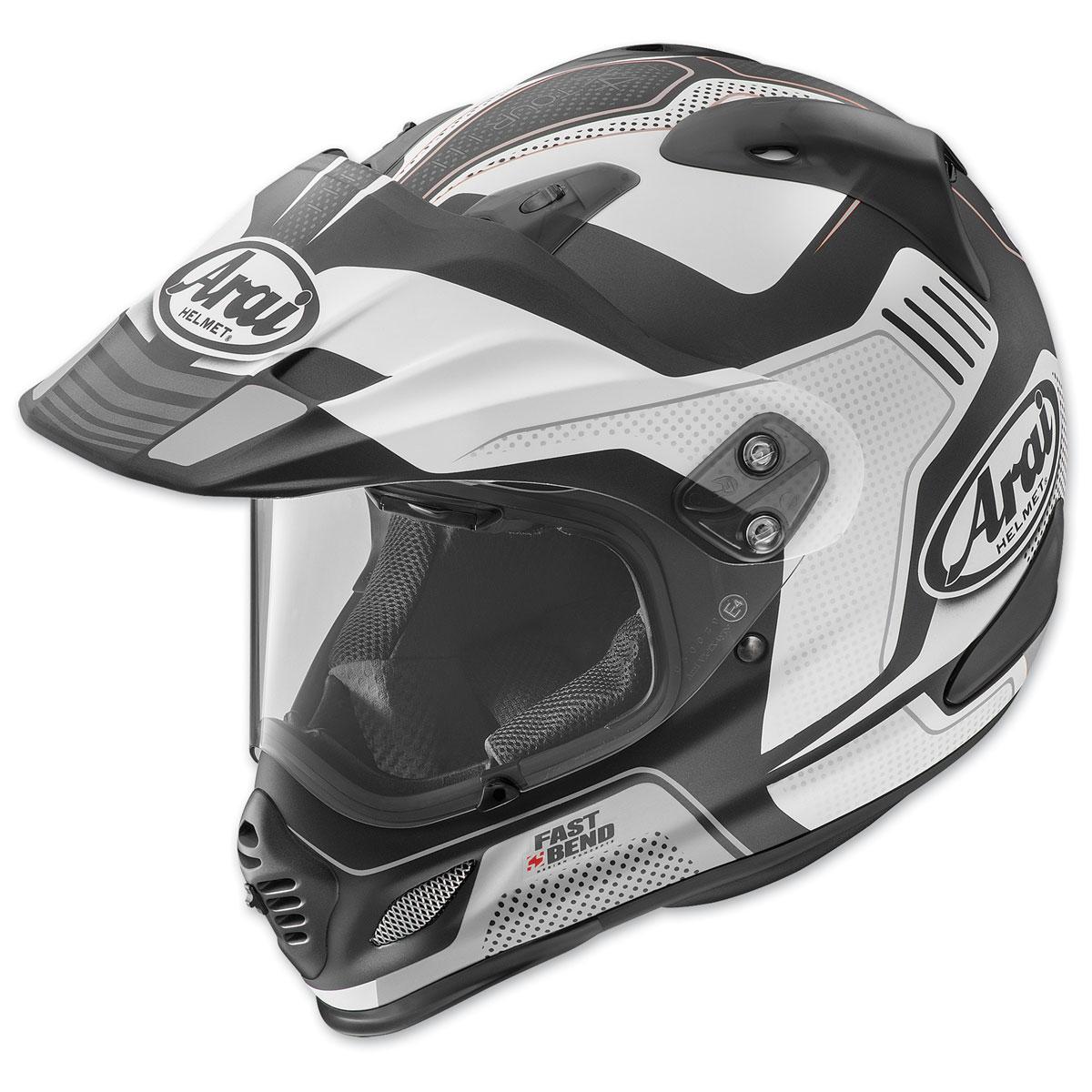 Arai XD4 Vision White Frost Dual Sport Helmet