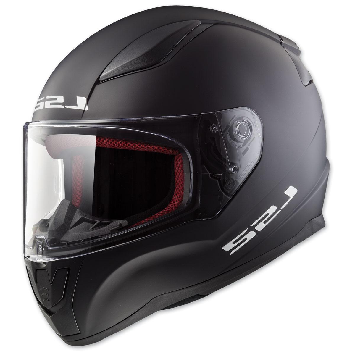 LS2 Rapid Matte Black Full Face Helmet