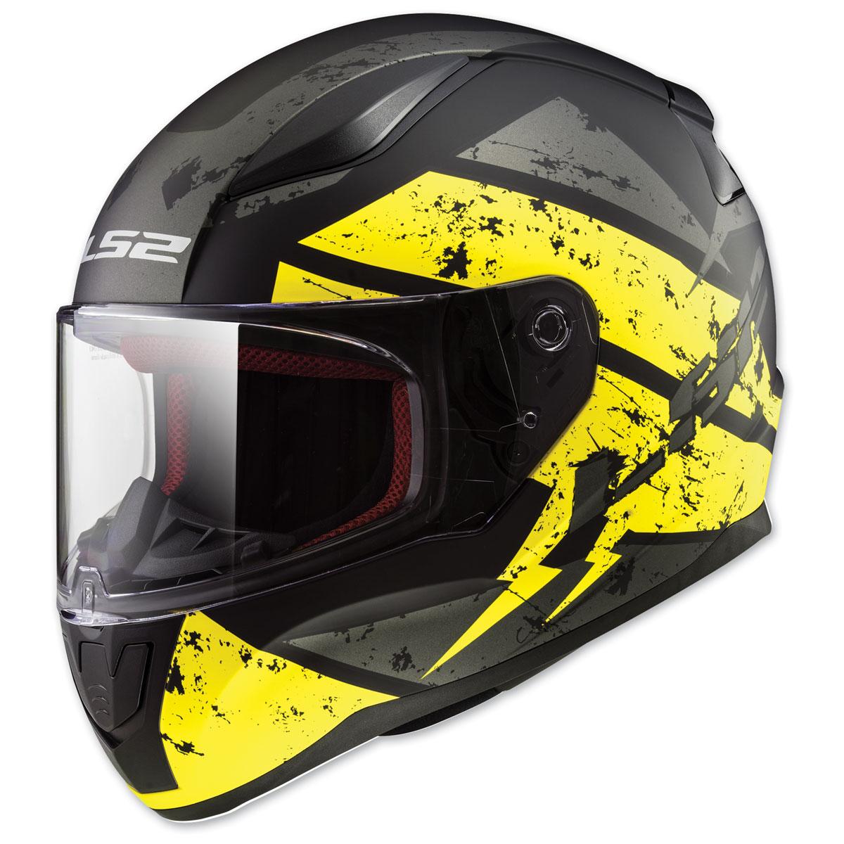 LS2 Rapid Deadbolt Black Full Face Helmet