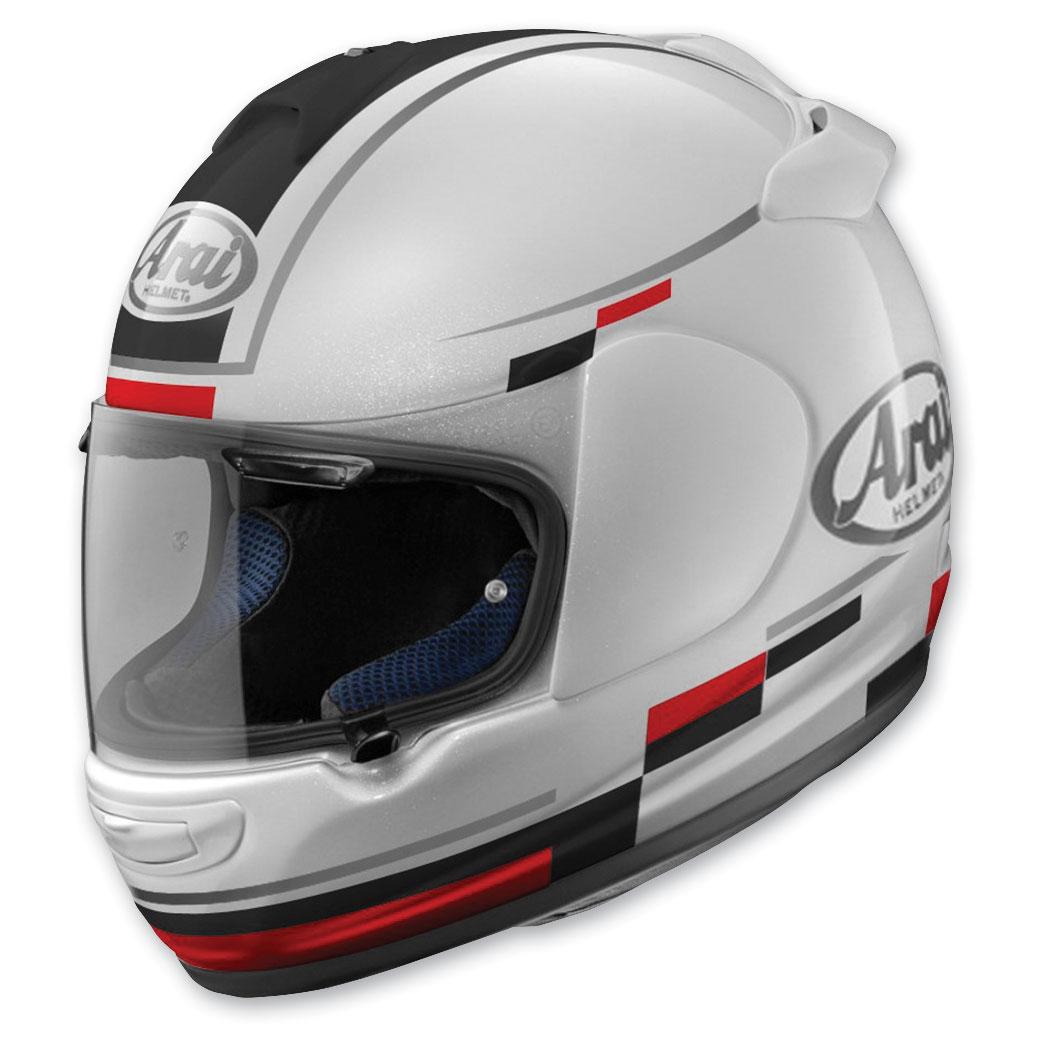 Arai Vector 2 Blaze White/Black Full Face Helmet