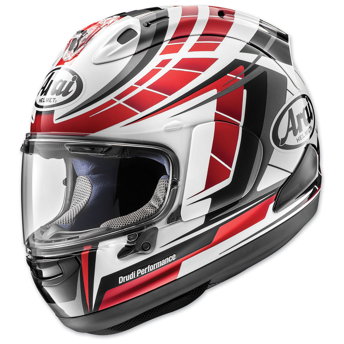 Arai Corsair-X Planet Red Full Face Helmet