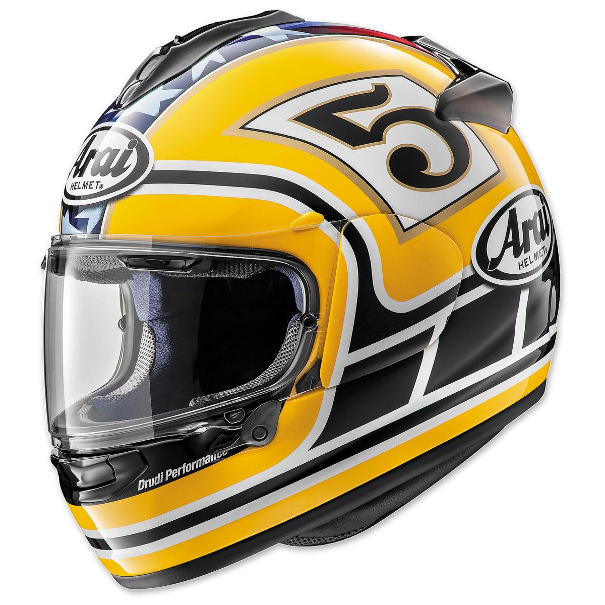 Arai DT-X Edwards Legend Yellow Full Face Helmet