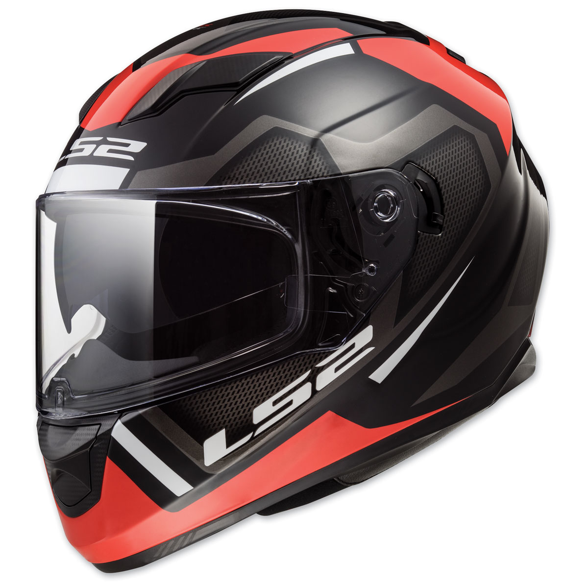 LS2 Stream Axis Matte Red Full Face Helmets