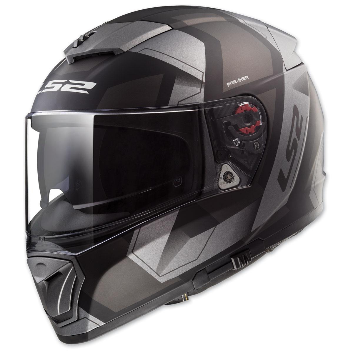 LS2 Breaker Physics Matte Black Full Face Helmet