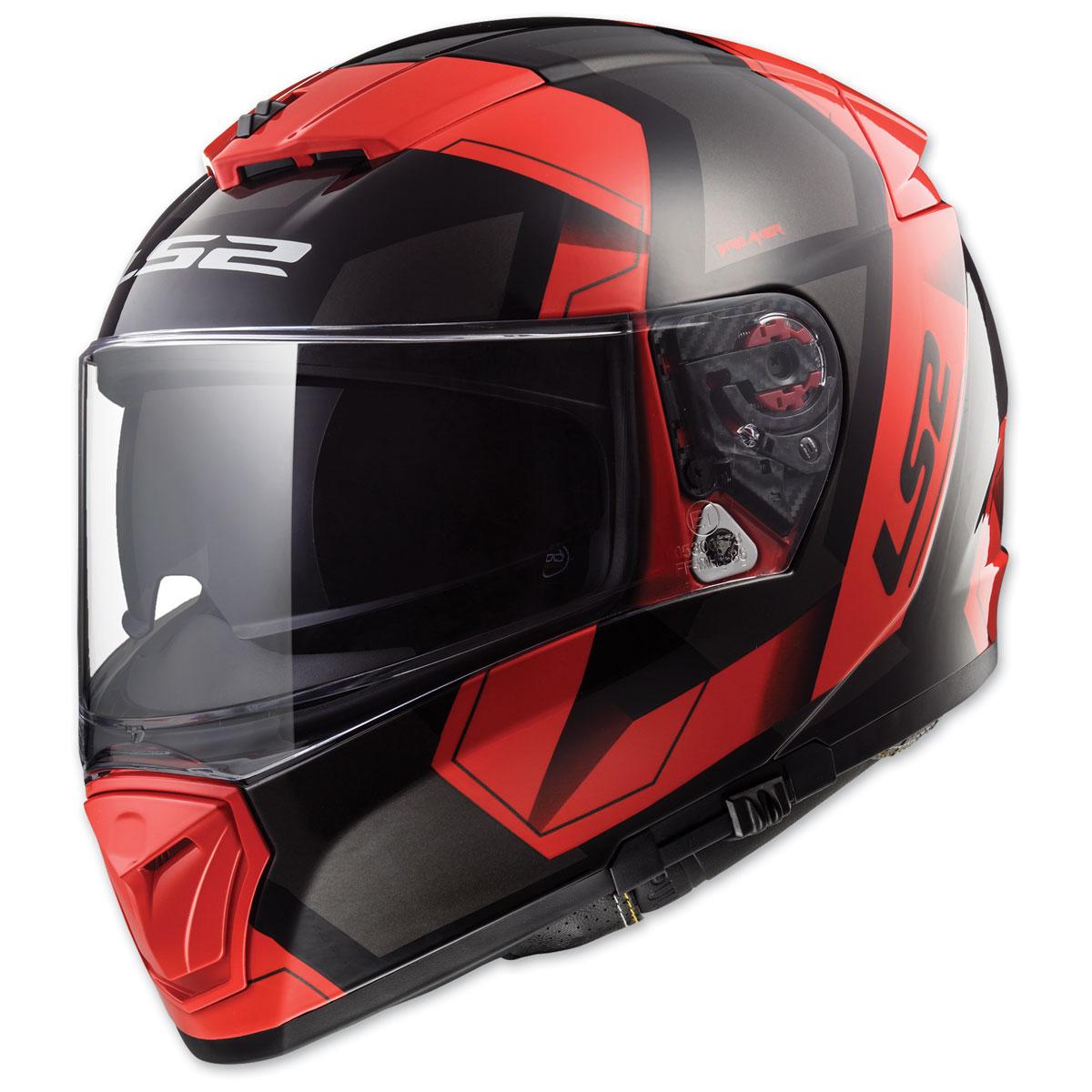 LS2 Breaker Physics Matte Red Full Face Helmet
