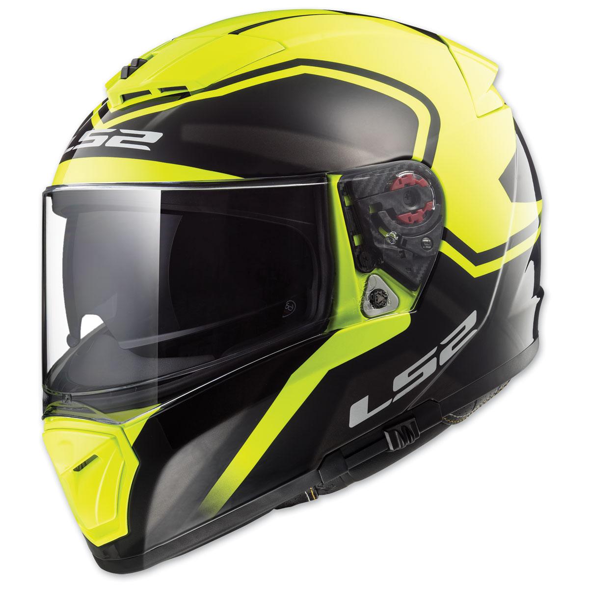 LS2 Breaker Bold Hi-Vis Yellow Full Face Helmet