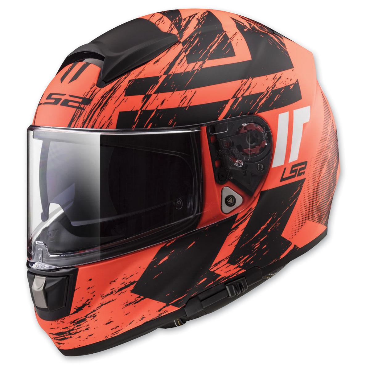 LS2 Citation Hunter Matte Orange Full Face Helmet