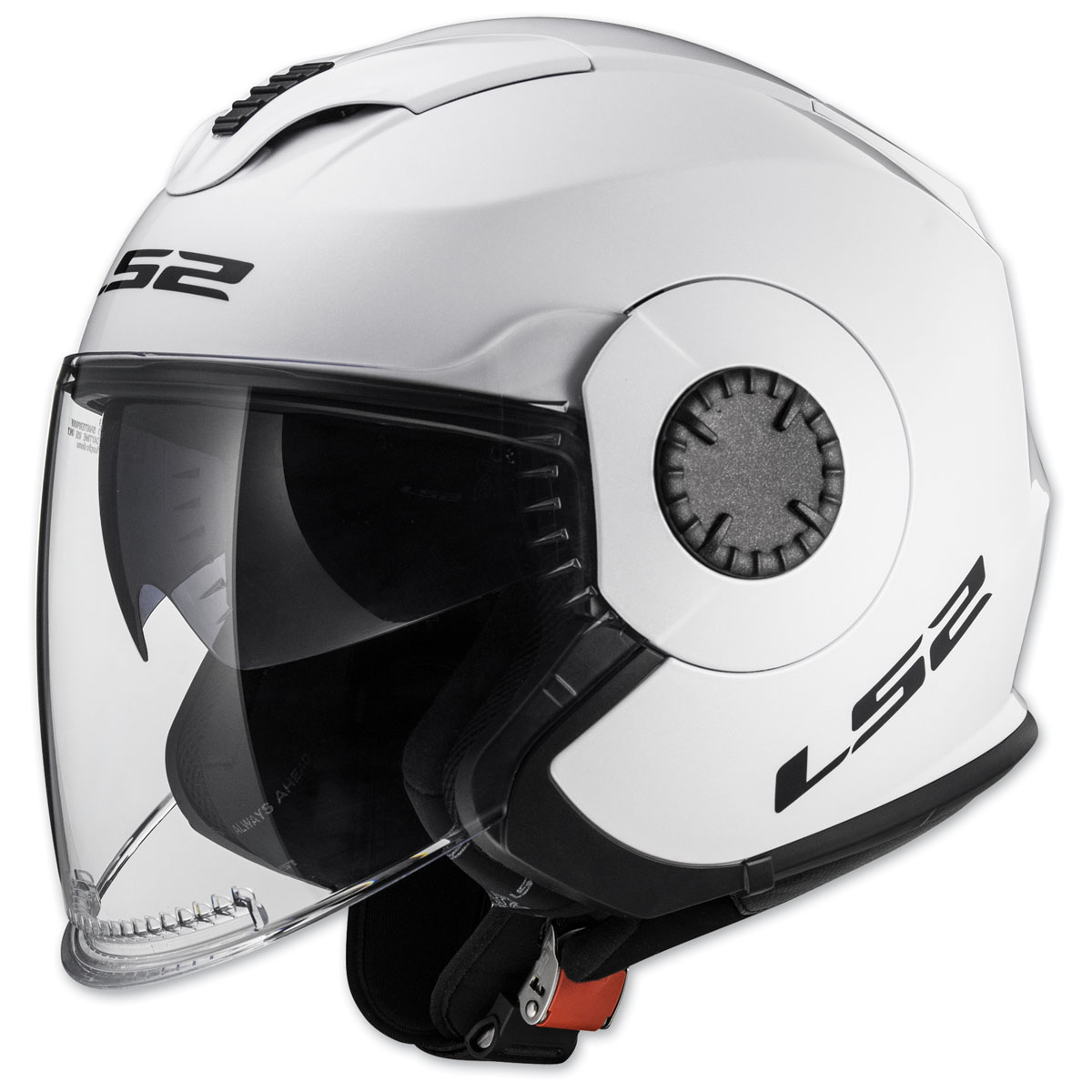 LS2 Verso White Open Face Helmet