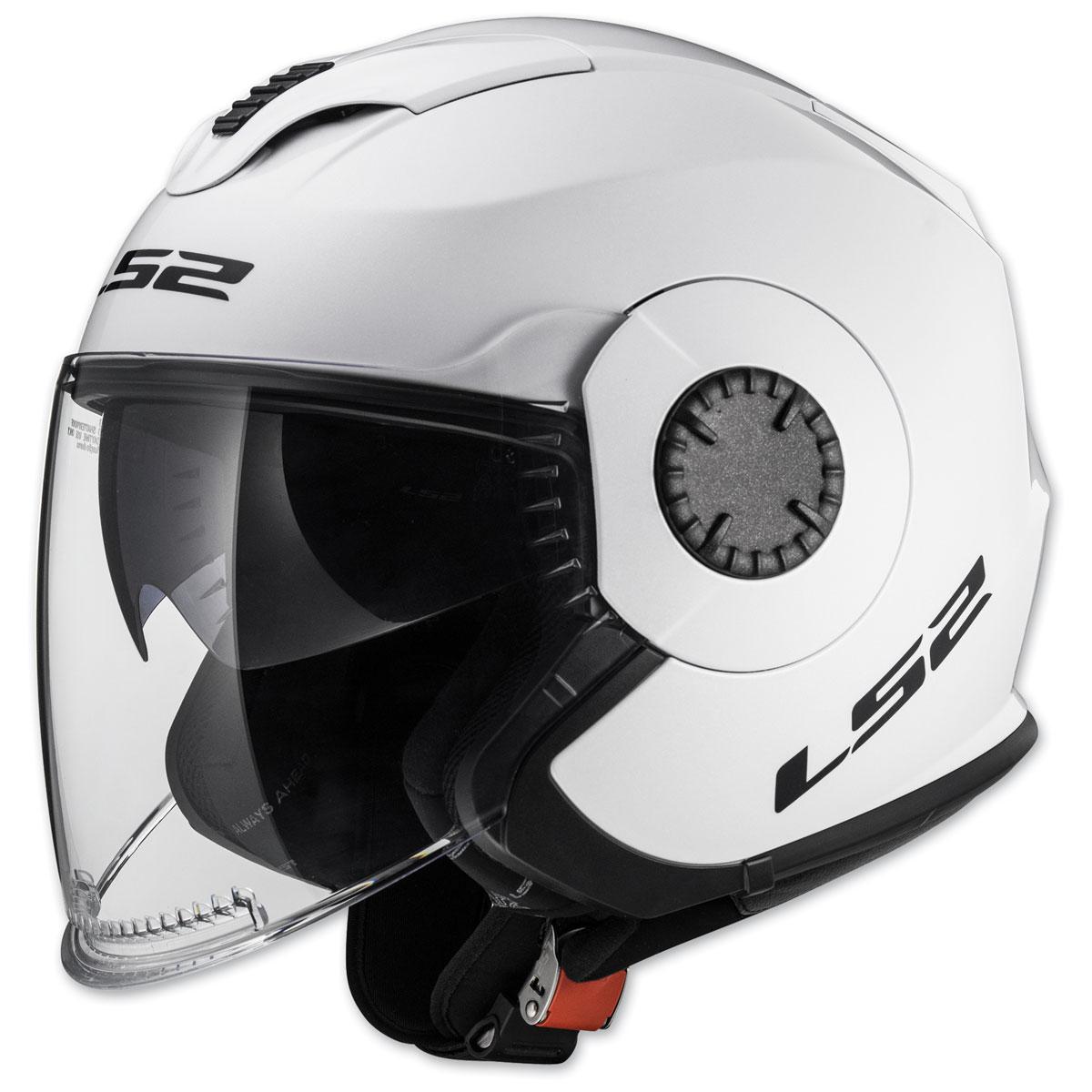 LS2 Verso White Open Face Helmet