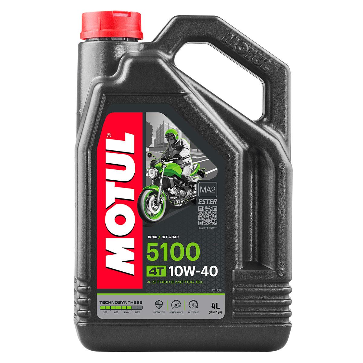 MOTUL 5100 Synthetic Blend 10W40 Motor Oil 4 Liter