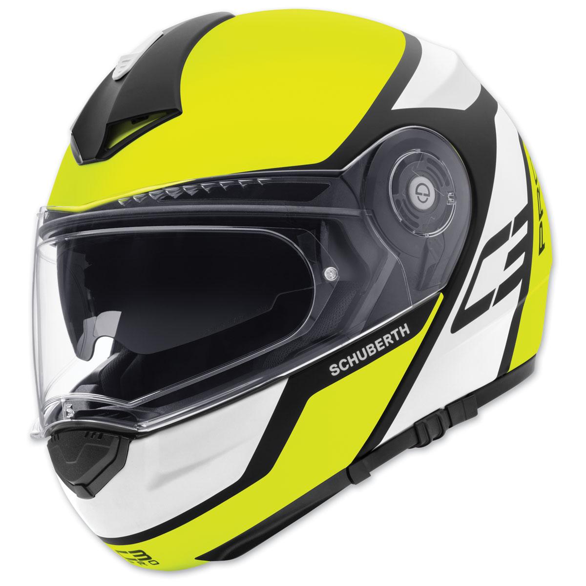 Schuberth C3 Pro Echo Yellow Modular Helmet