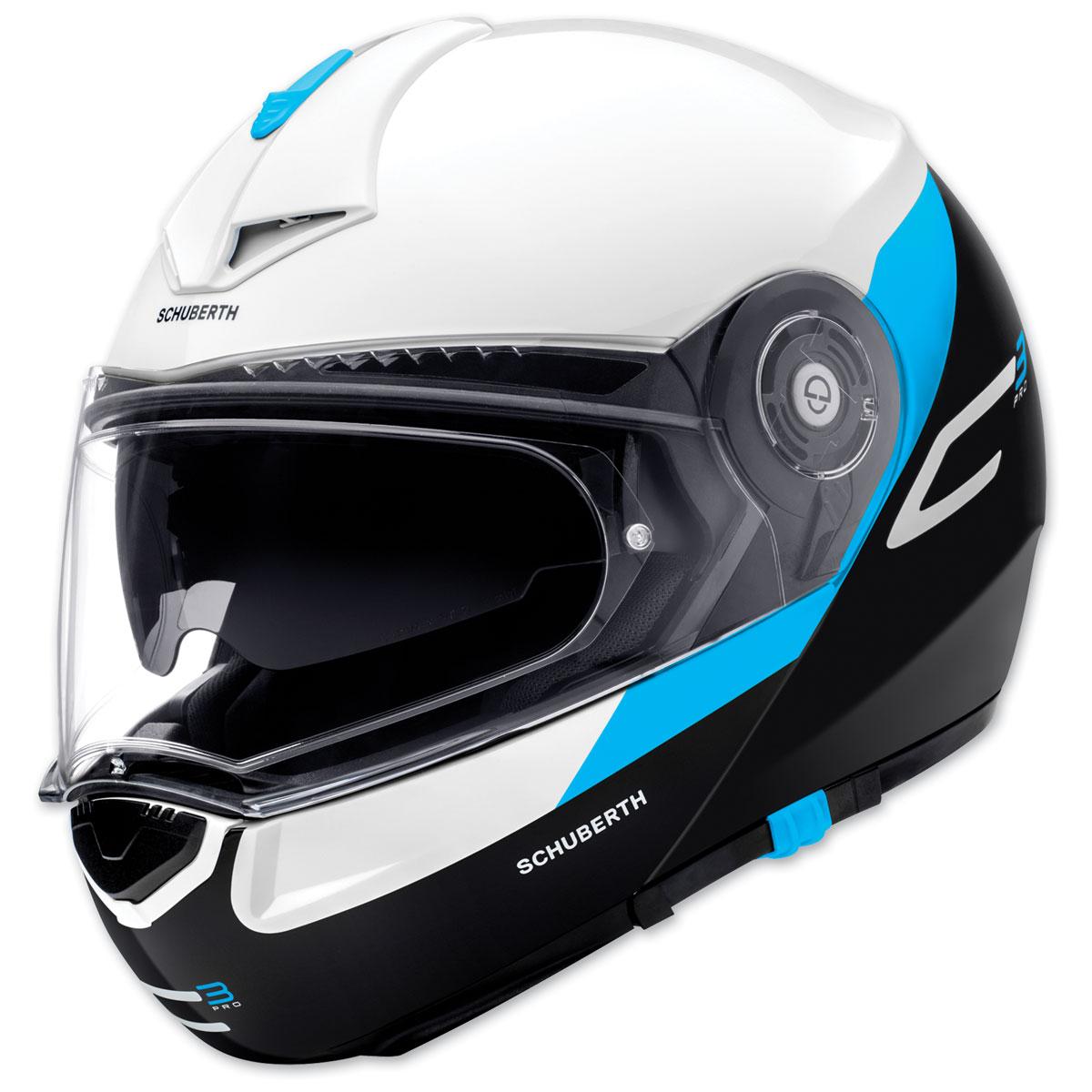 Schuberth C3 Pro Gravity Blue Modular Helmet