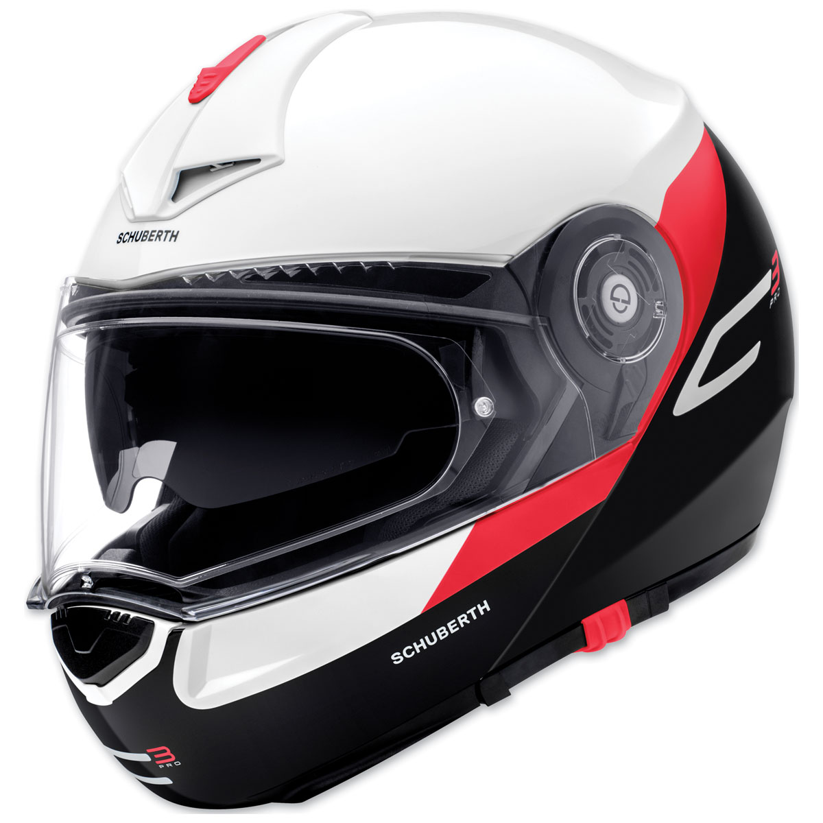 Schuberth C3 Pro Gravity Red Modular Helmet
