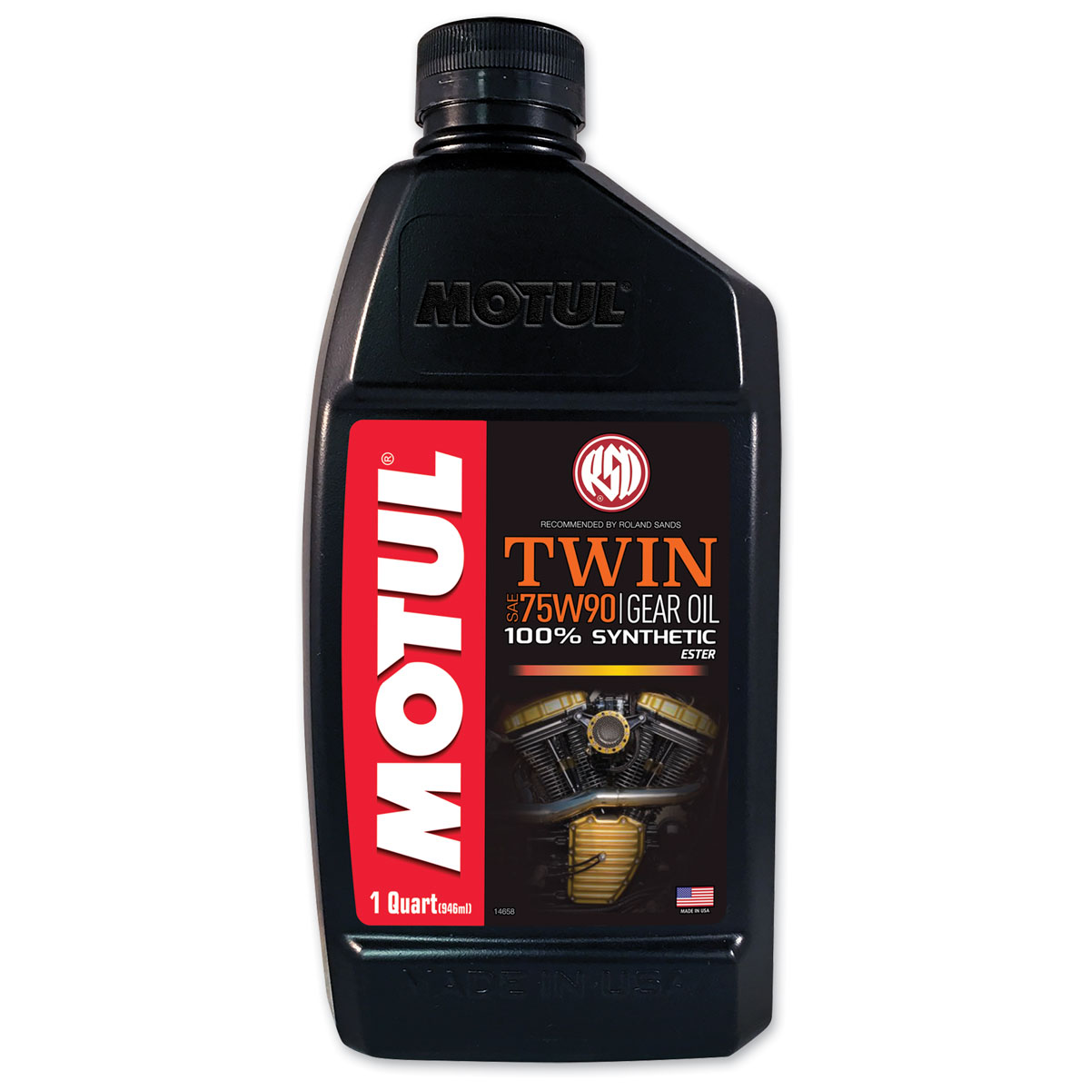 MOTUL RSD 75W90 Synthetic Transmission Gear Oil Quart ...