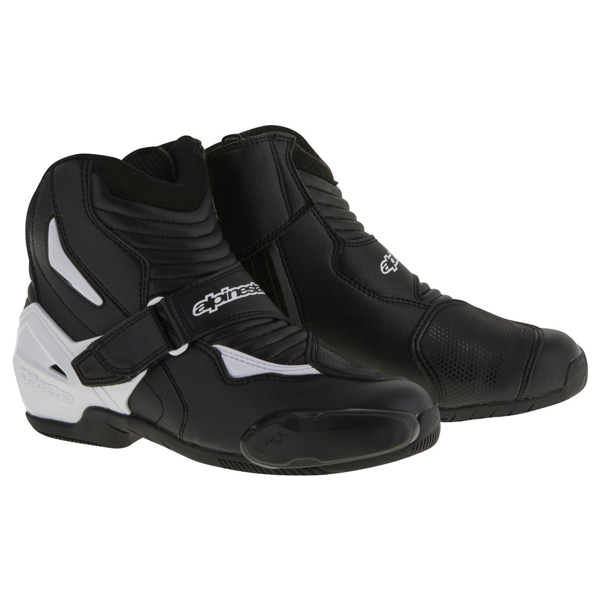 Alpinestars Men's SMX-1 R Black/White Boots