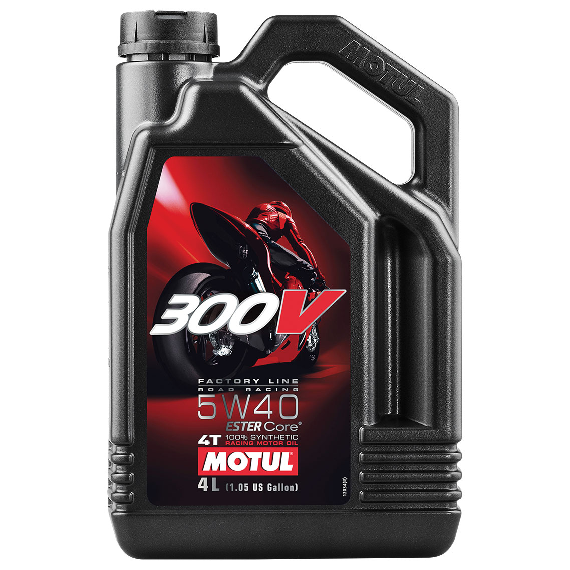 motul 300v synthetic 5w40 motor oil 4 liter 104115. Black Bedroom Furniture Sets. Home Design Ideas
