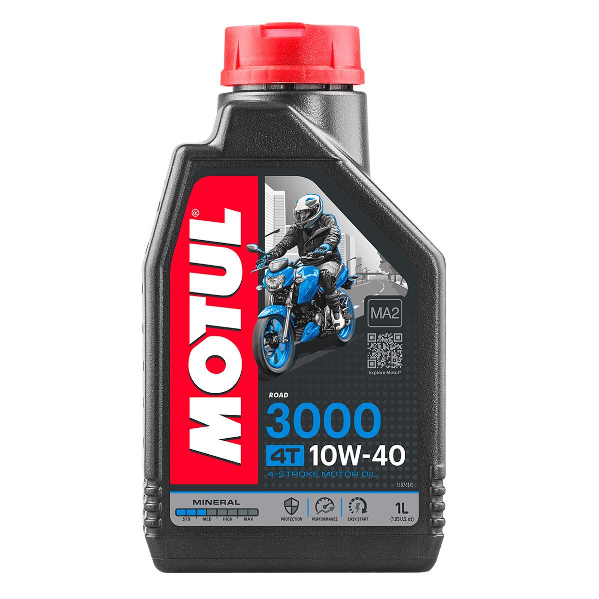 MOTUL 3000 10W40 Motor Oil Quart