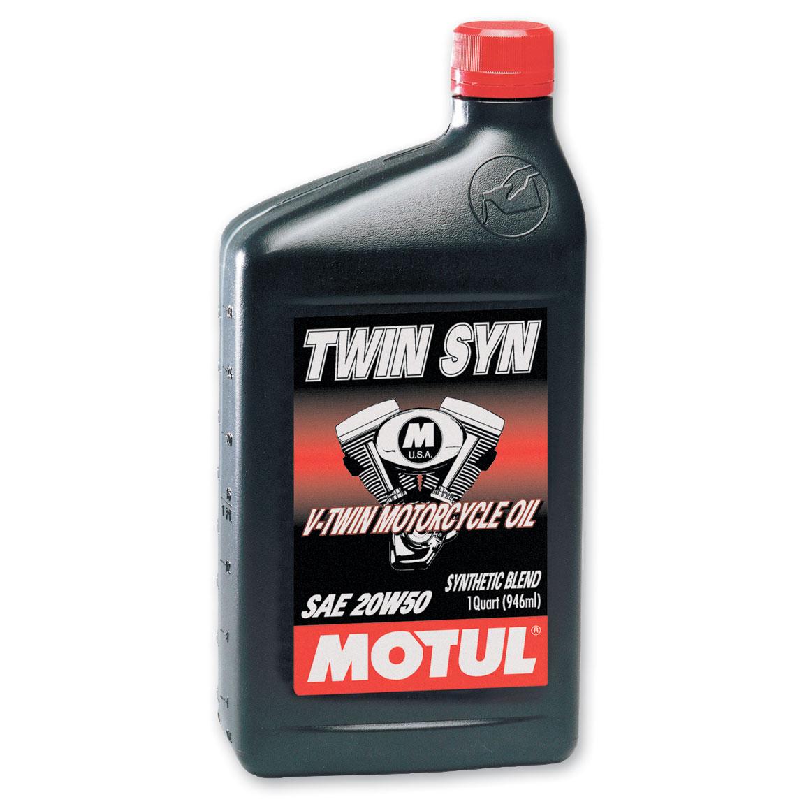 MOTUL Twin Syn Synthetic Blend 20W50 Motor Oil Quart