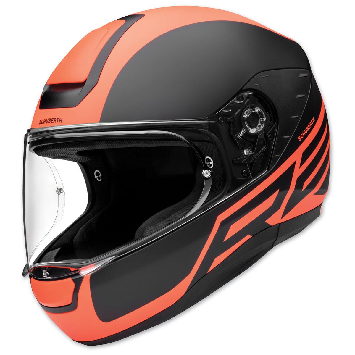Schuberth R2 Traction Orange Full Face Helmet