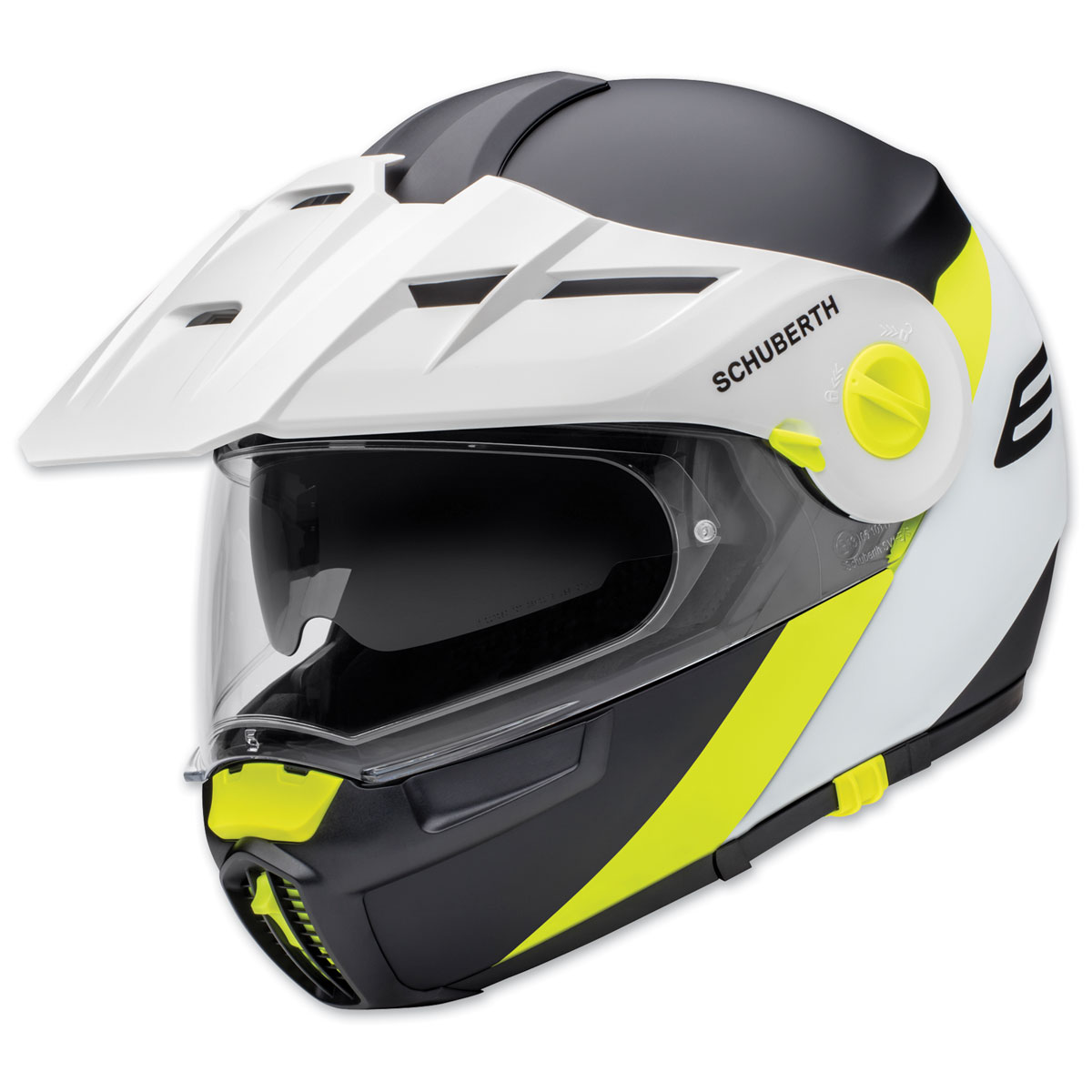 Schuberth E1 Gravity Yellow Modular Helmet