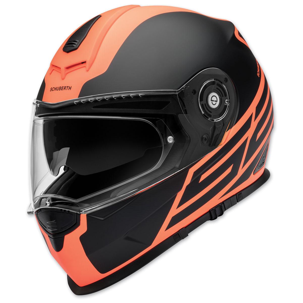 Schuberth S2 Review >> Schuberth S2 Sport Traction Orange Full Face Helmet 4429476360