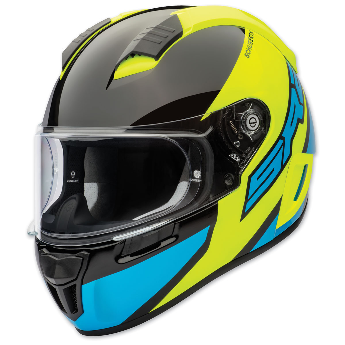 Schuberth SR2 Wildcard Yellow Full Face Helmet
