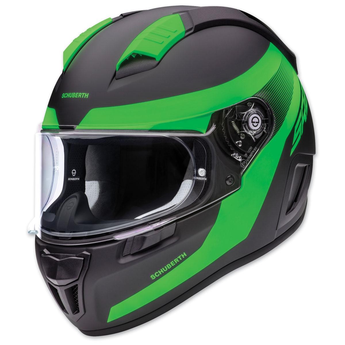 Schuberth SR2 Resonance Green Full Face Helmet