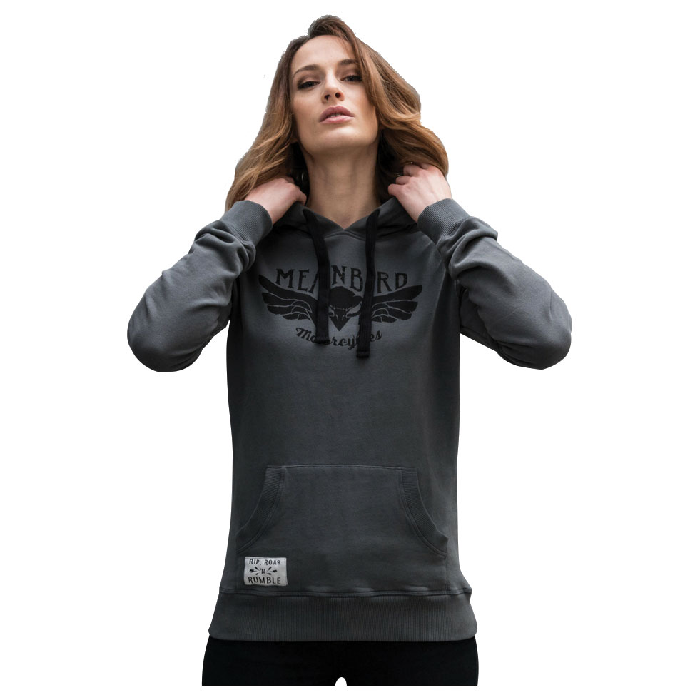 Red Torpedo Women's Mean Bird Graphite Hoodie