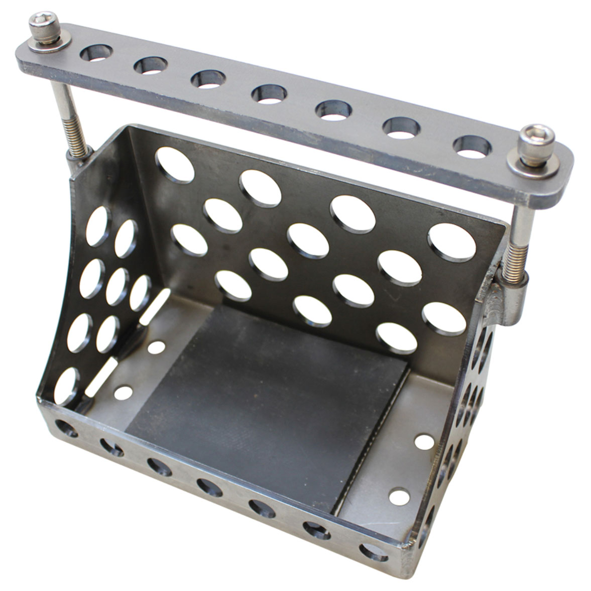 TC Bros. Choppers Holey Battery Box for YTX20 or YB16 Series Batteries