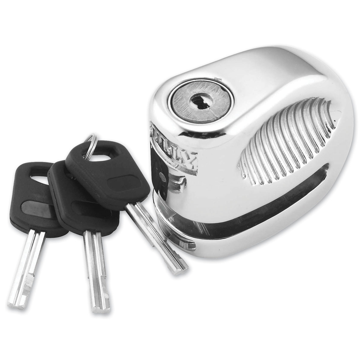 Bully 5.5mm Chrome Lock Disc With Pouch