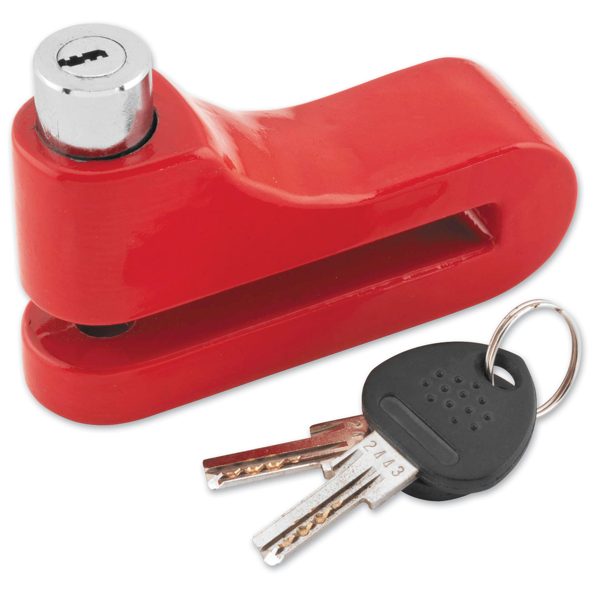 Bully 10mm Red Disc Lock