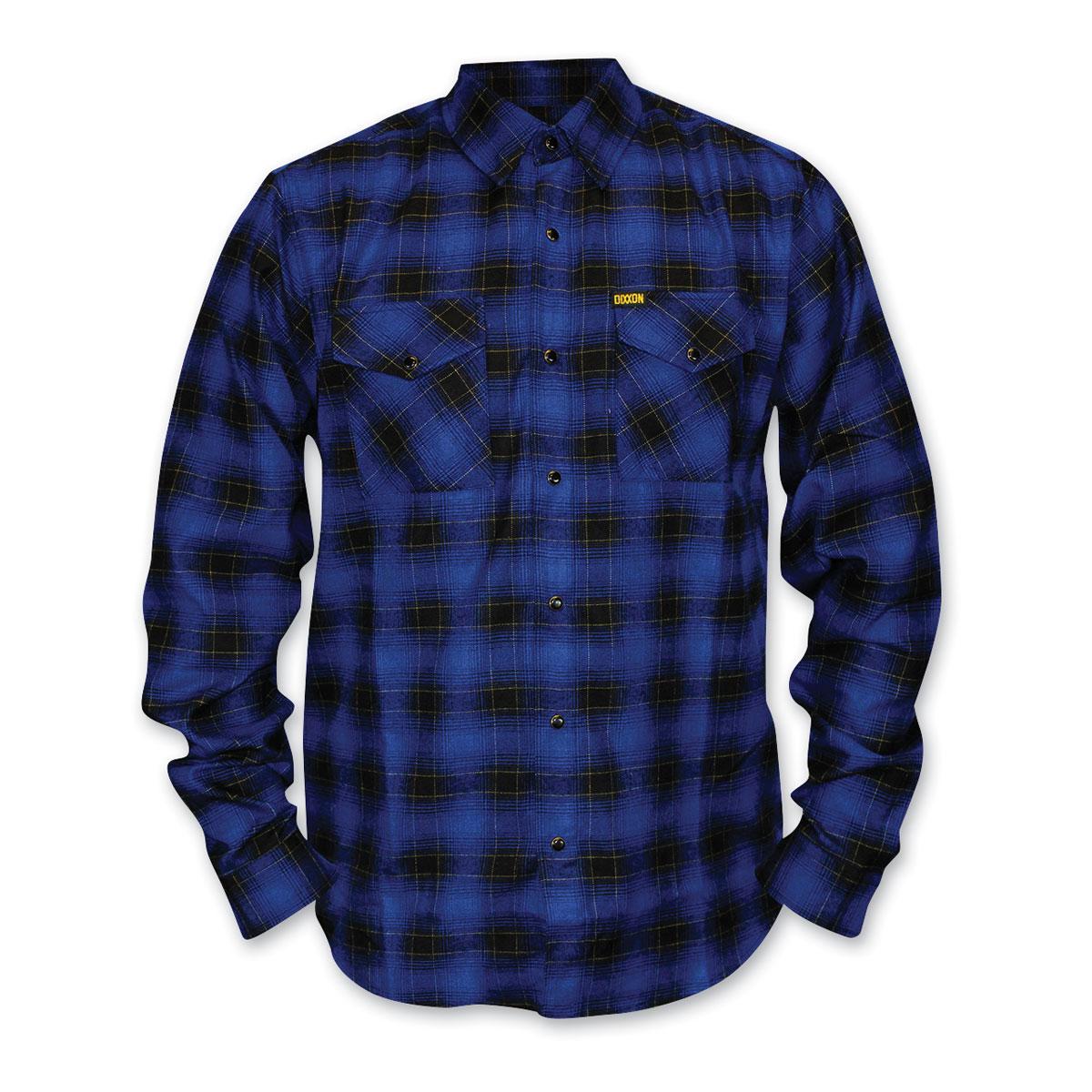 Dixxon Men's J&P Cycles Exclusive Flannel Shirt