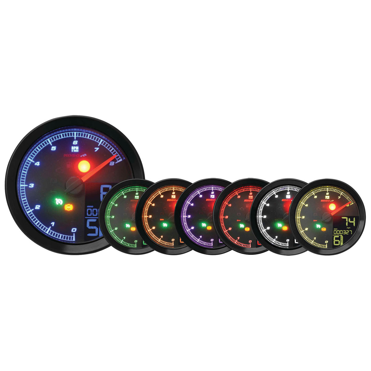 Koso Black HD-04 Series Gauge