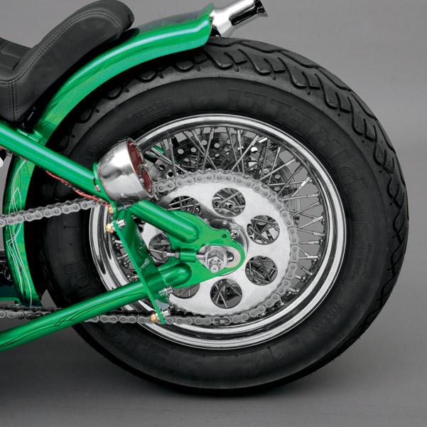 Ride Wright 40 Spoke Rear Wheel, 16 x 3.5