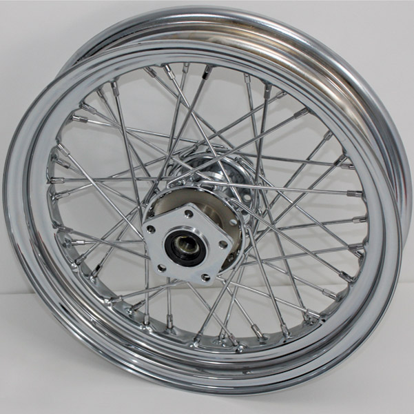 V-Twin Manufacturing Replica Front Wheel, 16 x 3.00