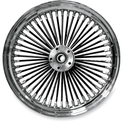 Ride Wright Fat Daddy 50-Spoke Dual Disc Front Wheel 16″ x 3.5″