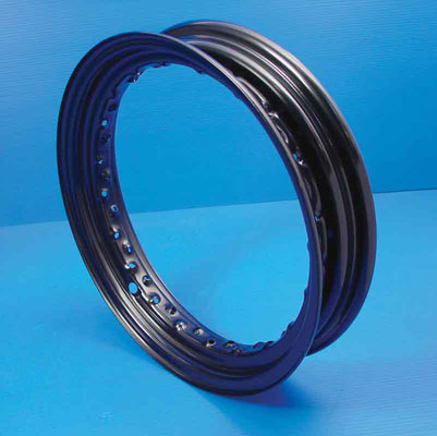 V-Twin Manufacturing Black Replica Rim, 16 x 3