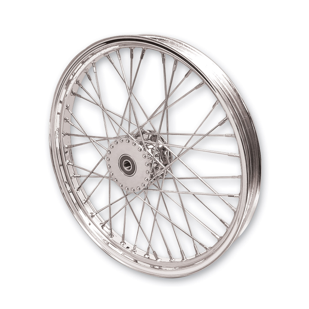 Chrome 21″ x 2.15″ Spool Wheel