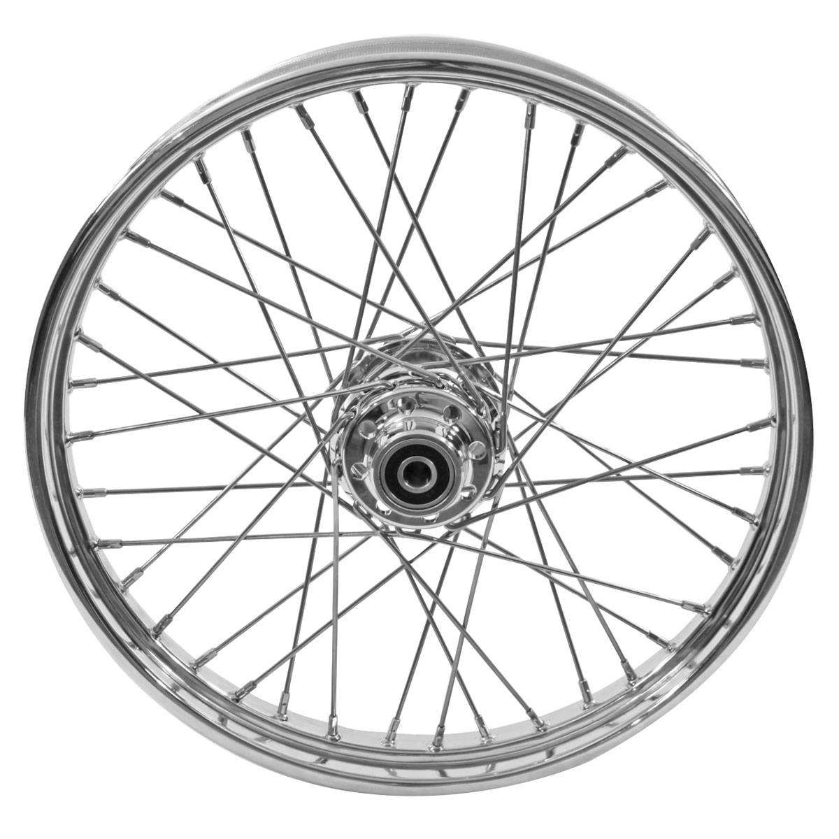 V-Twin Manufacturing Replica Front Wheel, 21 x 2.15