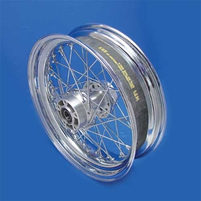 V-Twin Manufacturing Replica 40 Spoke Rear Wheel