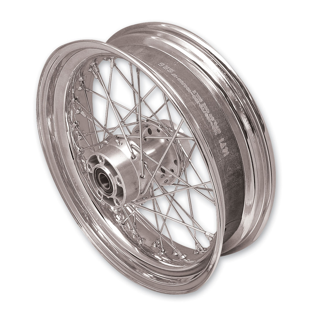 V-Twin Manufacturing Replica 40 Spoke Rear Wheel 17″ × 4.5″