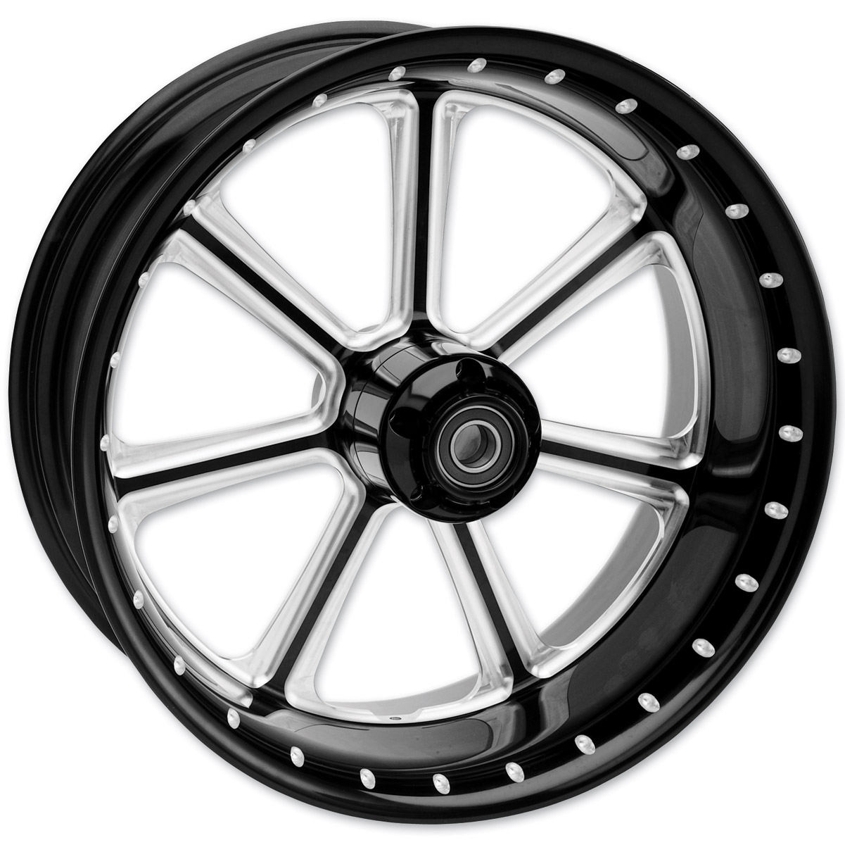 Roland Sands Design Contrast Cut Diesel Rear Wheel with ABS, 18″ x 3.5