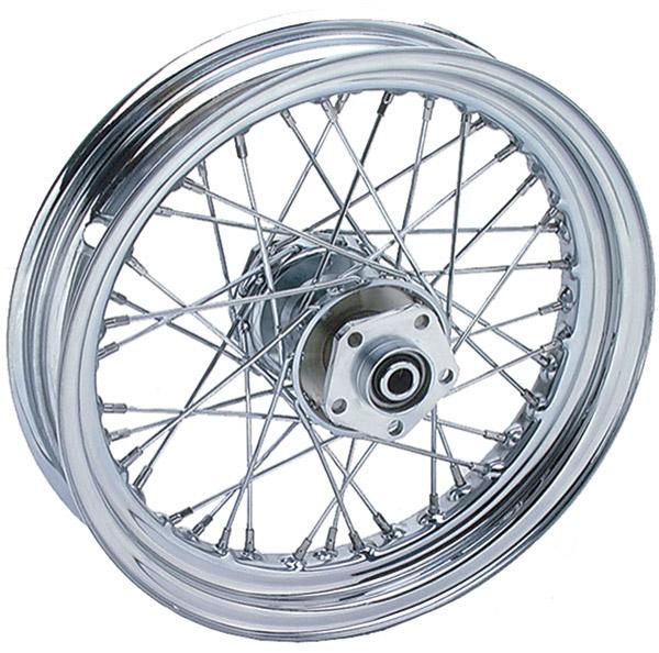 16″× 3.5″ 40 Spoke Front Wheel